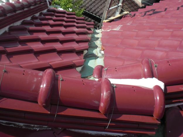 2施工前屋根板金箇所CIMG1592