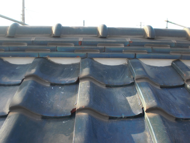 2漆喰修理雨漏り対策完了CIMG1911
