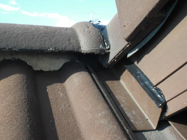 2軒天下に板金をしこみ雨漏り対策CIMG1742