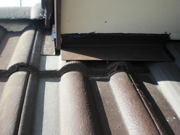 3軒天下に板金をしこみ雨漏り対策CIMG1743