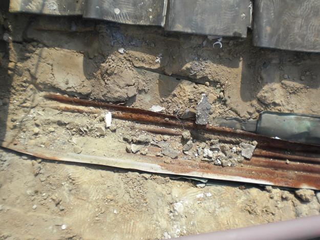 3雨漏り対策修理中CIMG1582