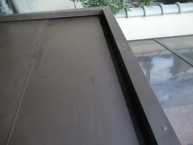 31玄関屋根の板金修理DSCF2227