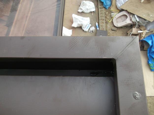 32玄関屋根の板金修理DSCF2228