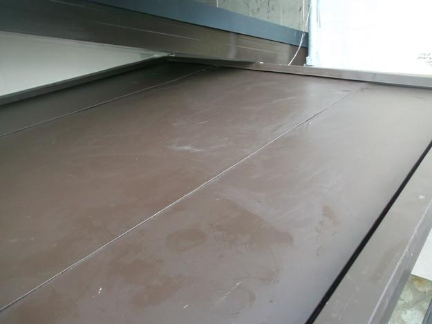 33玄関屋根の板金修理DSCF2231