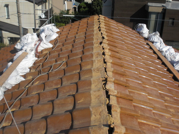 4棟瓦雨漏り対策修理CIMG1823