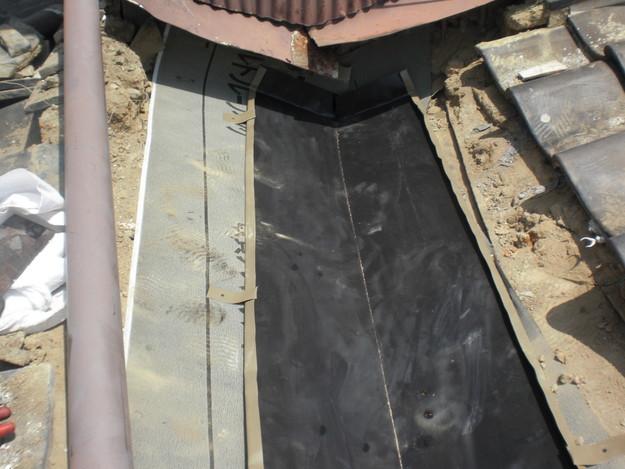 4雨漏り対策修理板金箇所CIMG1585