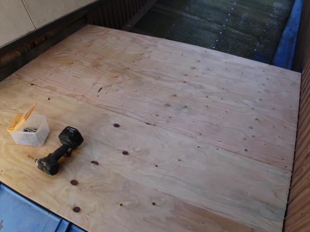 5雨漏り対策修理施工中DSCI0565
