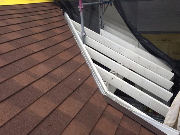 カバー工法による屋根のリフォーム1450403214469