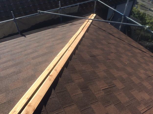 カバー工法による屋根のリフォーム1450403216218