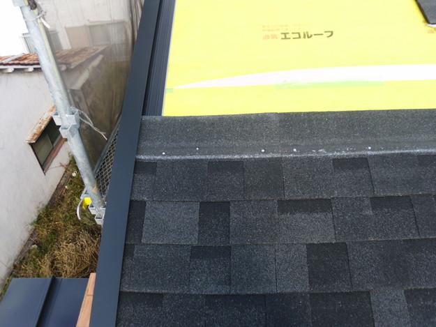 カバー工法による屋根のリフォームDSCI0660