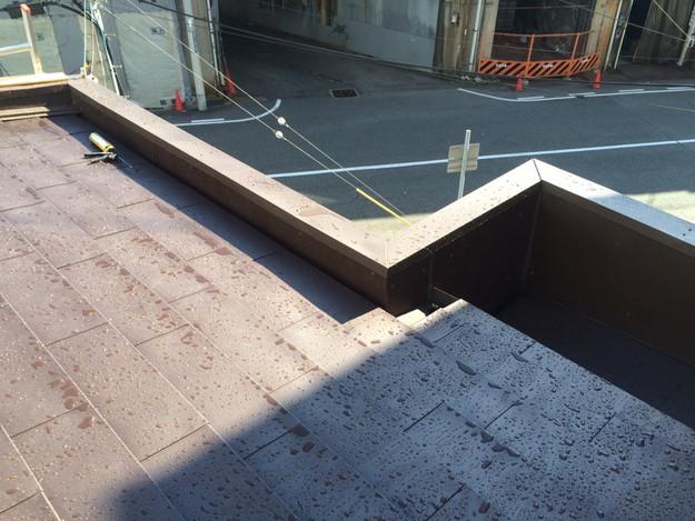 カバー工法工事による屋根のリフォーム完了1450663731602