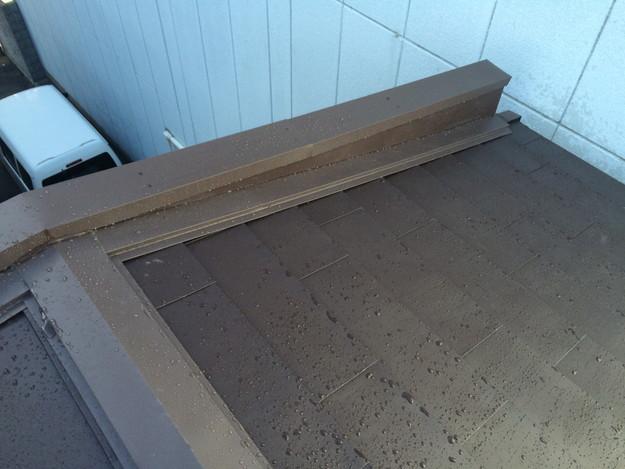 カバー工法工事による屋根のリフォーム完了1450663735004