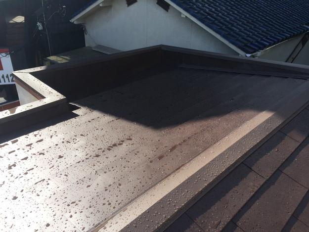 カバー工法工事による屋根のリフォーム完了1450663743587