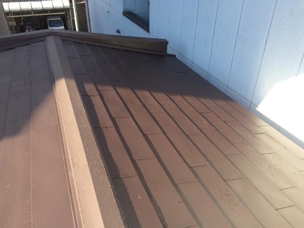 カバー工法工事による屋根のリフォーム完了1450663746714