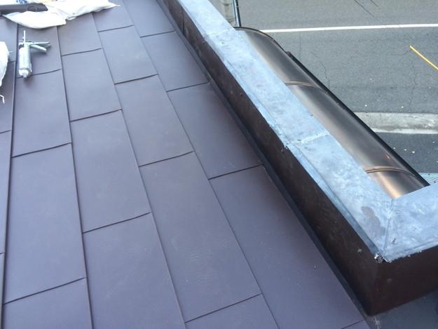 カバー工法工事による屋根のリフォーム1450663646721