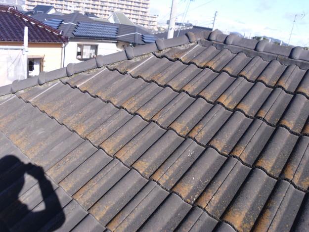 セメント瓦雨漏り対策修理施工前DSCI0990