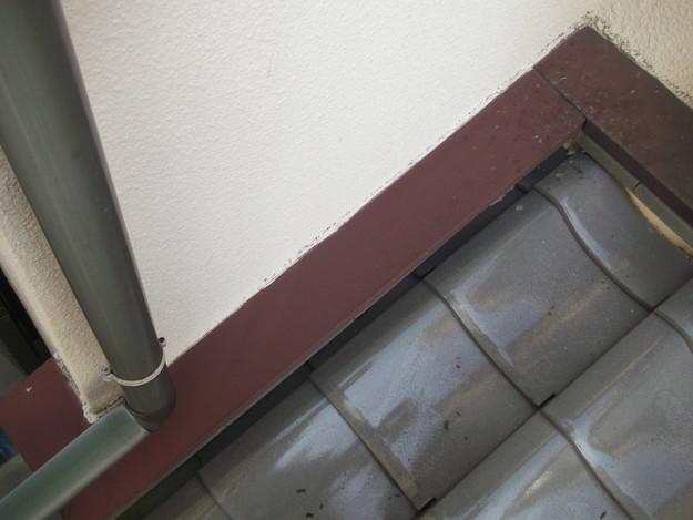 下屋根板金工事ビフォーDSCF2518