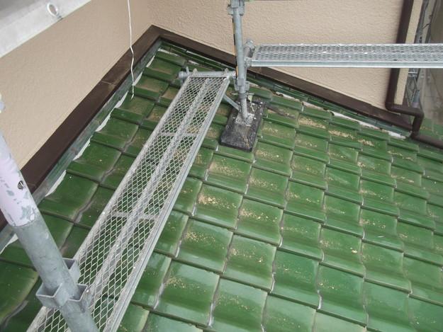 和瓦からカラーベストの屋根リフォーム工事施工前DSCF2542