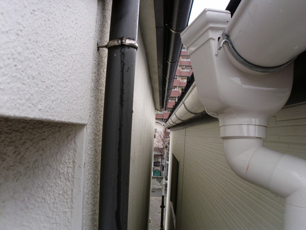 外壁サイディングリフォーム工事中DSCI0688