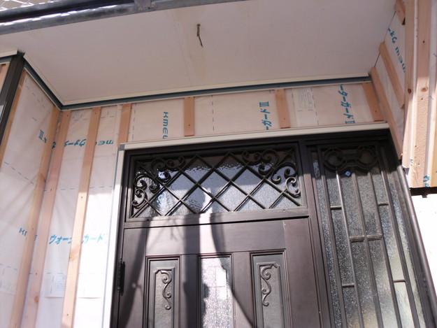 外壁サイディング工事中DSCI0671