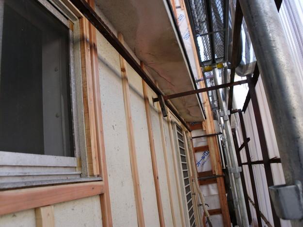 外壁サイディング工事中DSCI0676