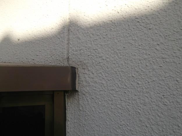 外壁防水コーキング処理前DSCF2513