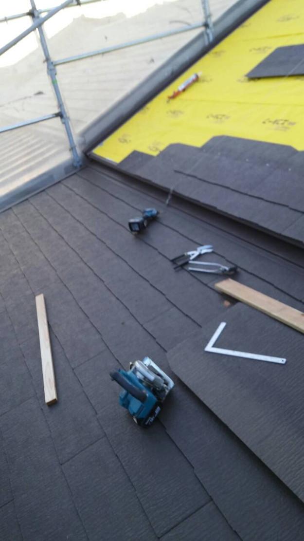 屋根のリフォームカバー工法カラーベスト1449568277844