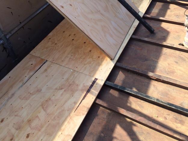 屋根のリフォーム下地補強等作業1450403131984