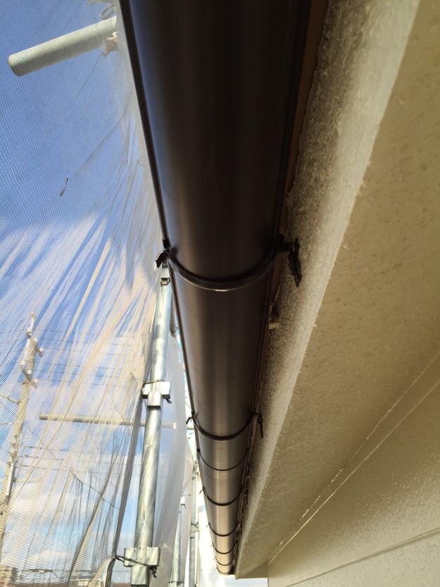 屋根のリフォーム完了雨樋1449367201555