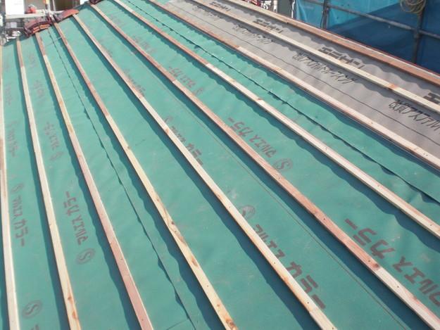 屋根のリフォーム完成までCIMG2129