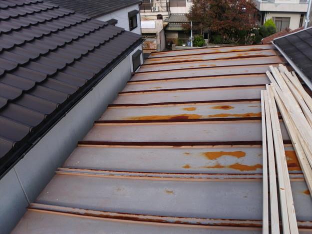 屋根のリフォーム工事前DSCI0607