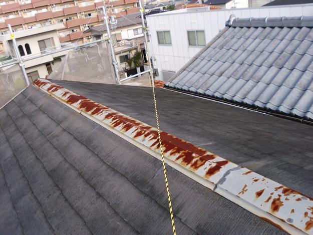 屋根のリフォーム工事前DSCI0609