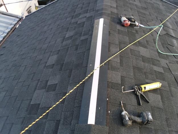 屋根のリフォーム換気棟システム設置DSCI0666