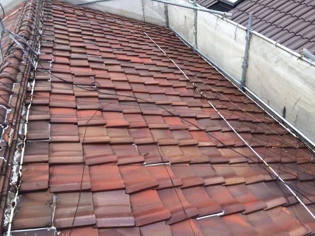 屋根のリフォーム施工前1450403105698