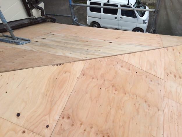 屋根の下地土台補強工事1449367331643