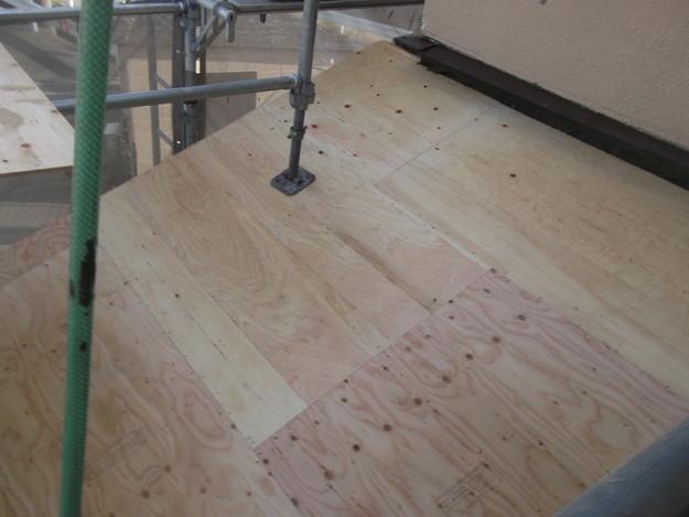 屋根の補強と土台づくりDSCF2559
