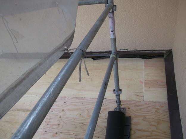 屋根の補強と土台づくりDSCF2560