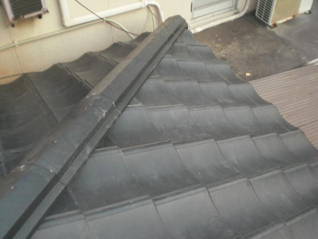 屋根葺き替えリフォーム工事新設瓦敷設から完成までCIMG2206