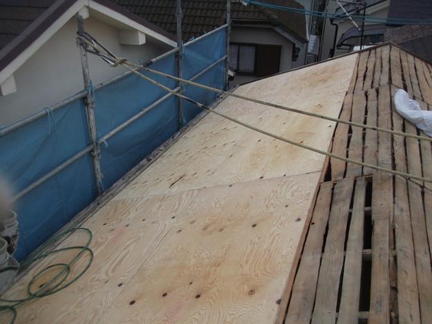 屋根補強と下地づくりDSCF2390