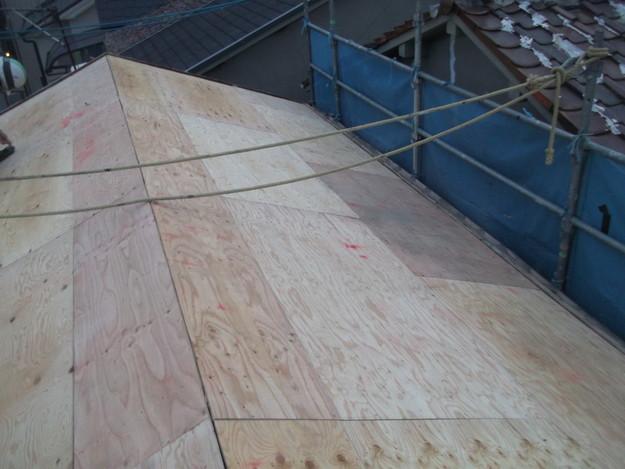 屋根補強と下地づくりDSCF2394