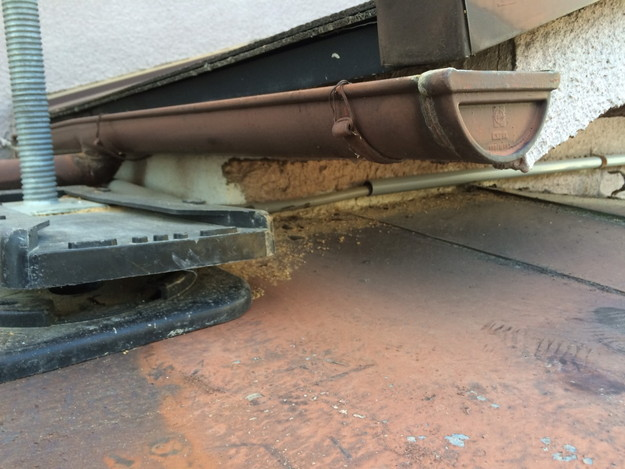 庇の修理1450403160815
