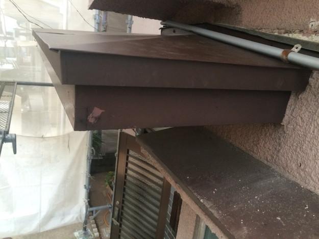庇の修理1450403163316