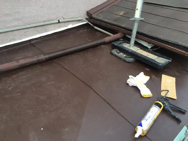 庇の修理1450403175301