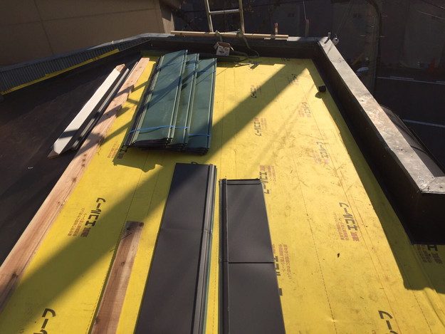 新設屋根材ガルバリウム合板使用1450663766316