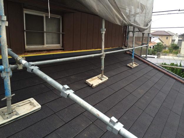新設屋根材敷設作業1449324606414
