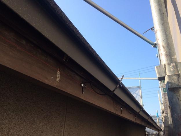 新設屋根材敷設作業1449324642394