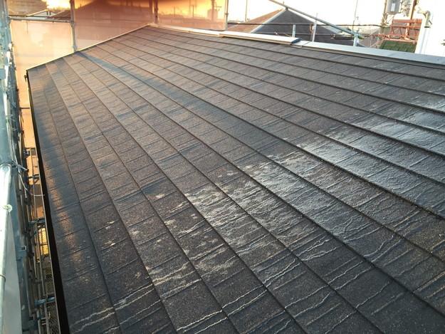 新設屋根材敷設作業1449324808581