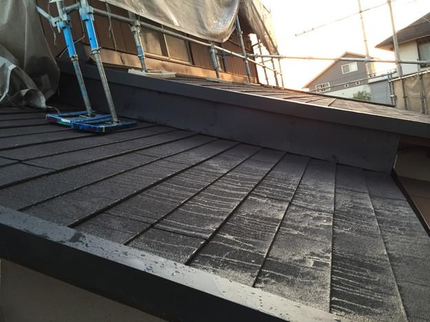 新設屋根材敷設作業1449324841649