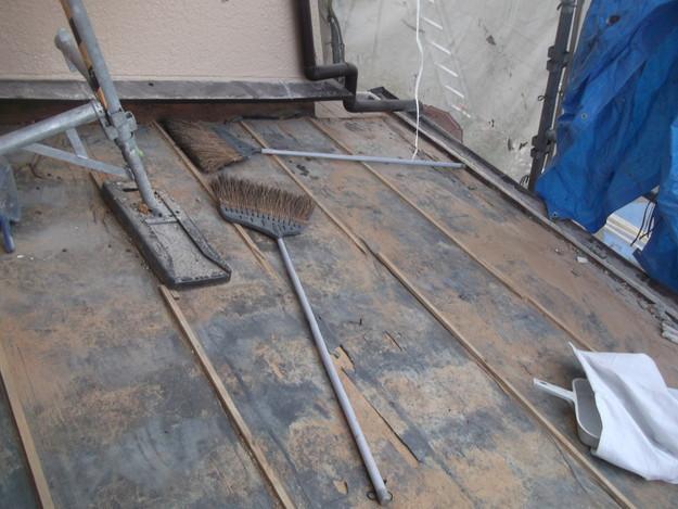 既存瓦の撤去作業DSCF2551