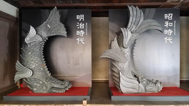 本日の鬼瓦その1姫路城兵庫県2016
